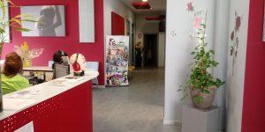 Sala de espera delCentro Audiologico ONDAS